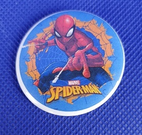 BUTTON - spiderman