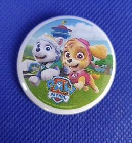 BUTTON - Paw Patrol