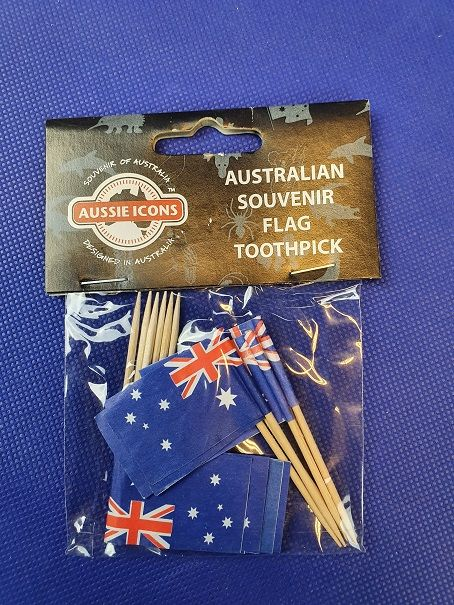 Cocktailprikkers - Aussie flag
