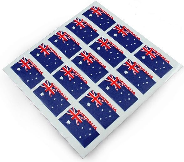Stickers Aussie flags