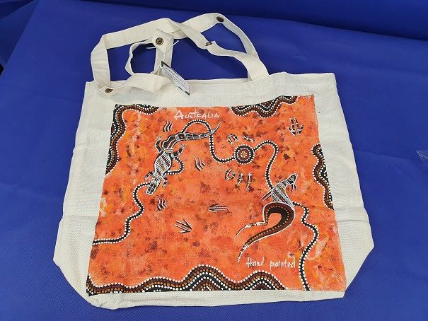 Aboriginal Art - Canvas shopper