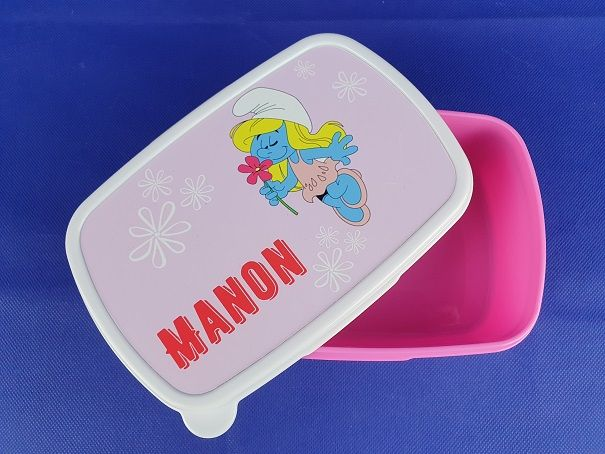Lunchbox - Smurf Manon