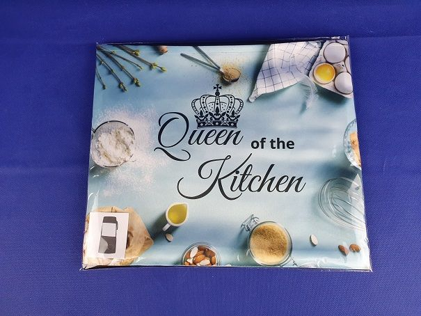 Satijnen schort - Queen of the kitchen