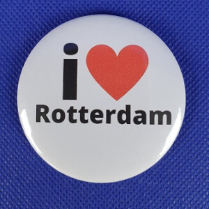 BUTTON - I love Rotterdam