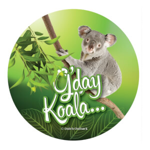 G'day Koala® - Sticker - 10 stuks