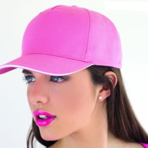 Ladies cap - pink