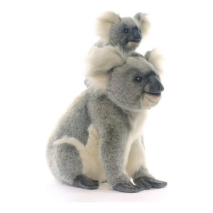 Big Koala with baby Joey - pluche