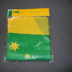 Australie vlag - yellow