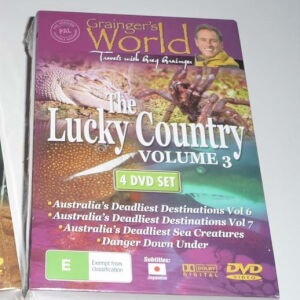 DvD box - The Lucky Country