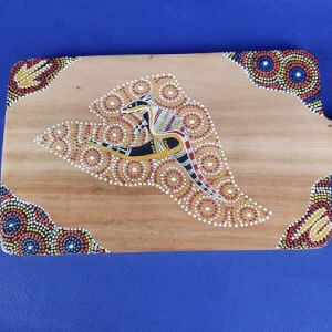 Australië broodplank - Aboriginal Art