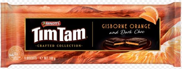 Tim Tam - Orange and Dark